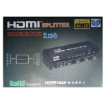 SPLITTER HDMI 1/4 SPACETRONIK SPH-RS104V4A LXHD106