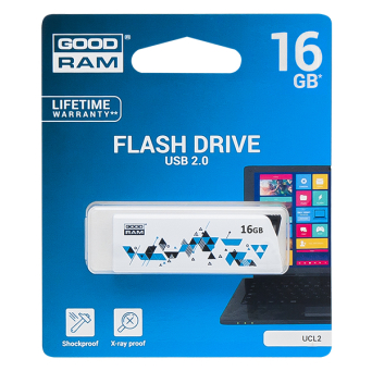 PENDRIVE GOODRAM 16GB USB 2.0 UCL2