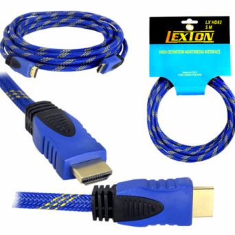 KABEL HDMI LEXTON LX HD82 5m