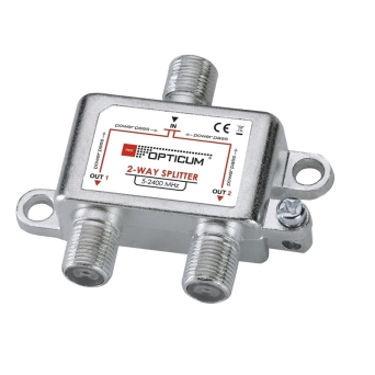 SPLITTER 2 WAY OPTICUM 5-2400MHz